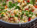 Рецепта Ориз със зеленчуци и соев сос
